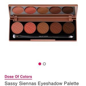 BRAND NEW Dose Of Colors Sassy Siennas Eyeshadow